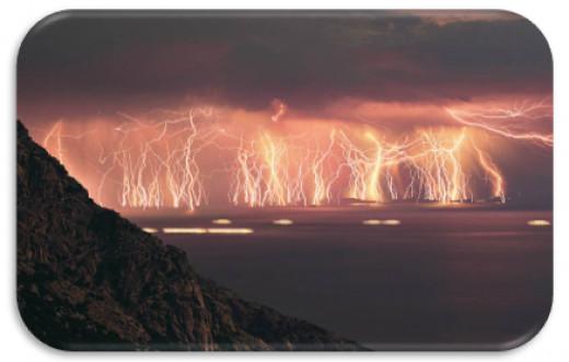 Figure 3 Electrical Storm Ikaria Island