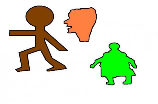 Anthropomorphic shapes