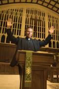 Pastor on Pulpit