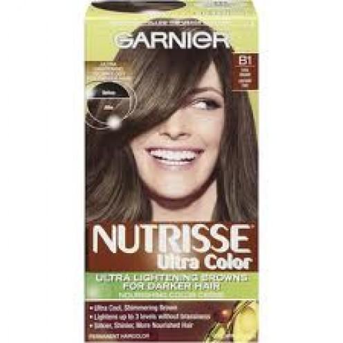 Garnier Ultra Color For Lightening Darker Hair in Cool Brown (B1)