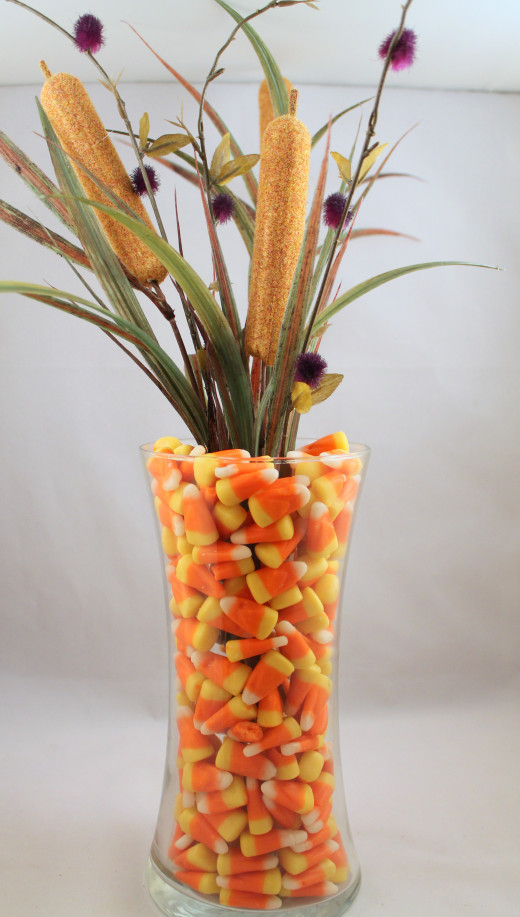 Easy seasonal decorative vase