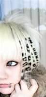 Leopard or cheetah print hair