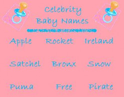 List of Celebrity Baby Names
