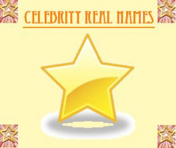 celebrity real names
