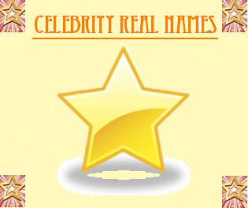 celebrity real names