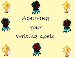 achieving your writing goals