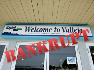 The city of Vallejo went bankrupt in California a couple years ago. Is is possible that the whole state of California could face bankruptcy in the future?