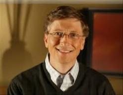 Billionaire Philanthropist:  Bill Gates