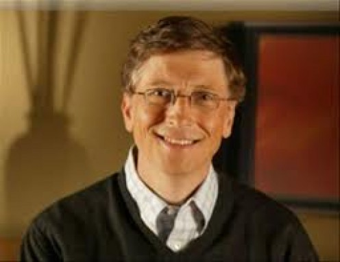Bill Gates owns the Microsoft company and he made the X-box video game console. He has been involved with computer software since the late 1970s.