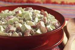 Light and Creamy Apple Almond Salad