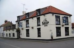 Another watering hole, the Ship Inn at Flamborough. Come in for a proper Yorksher fish'n'chip dinner and pint