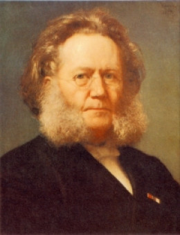 Henrik Ibsen By Henrik Olrik (1830-1890)  [Public domain], via Wikimedia Commons