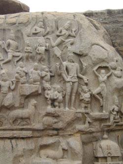 2. Story depicting Arjuna Thapas or Bhaheeratha Tapas