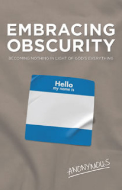 Introduction to Embracing Obscurity - a book review #2 & win a free book