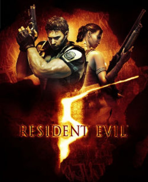North American cover art for Resident Evil 5
