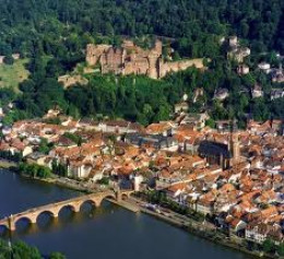 Aerial view of Heidelberg