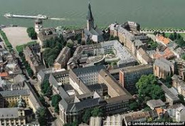 Aerial View of the Old Town, Dusseldorf