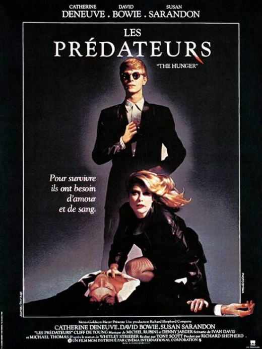 The Hunger (1983) French poster