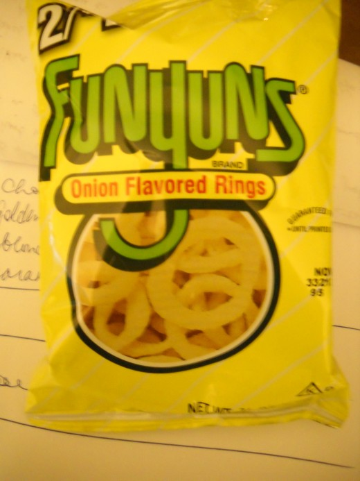 small bag of Funyuns