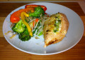 Garlic-Stuffed Chicken Breasts