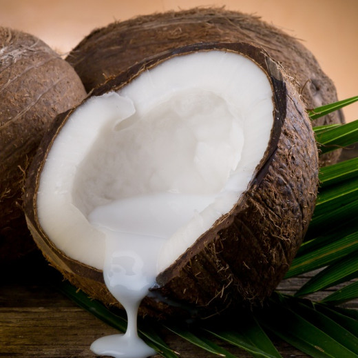 Oil Rich Coconut