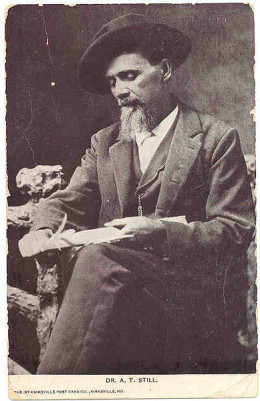 Andrew Still is regarded as the founder of osteopathic medicine.