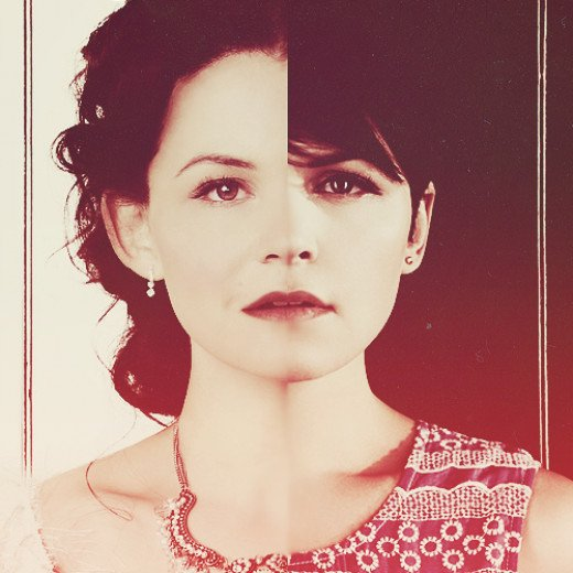 Ginnifer Goodwin plays a dual role in 'Once Upon a Time'.