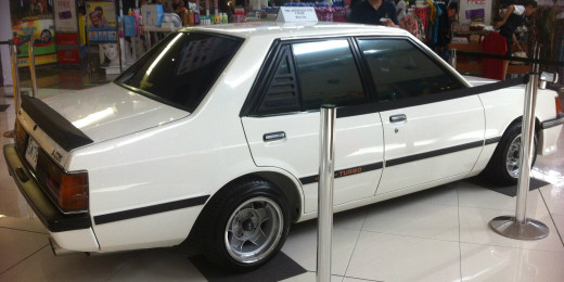 1986 Lancer Box Type 4 Door