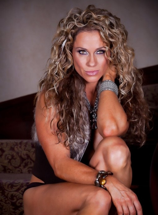IFBB Fitness Legend-Monica Brant