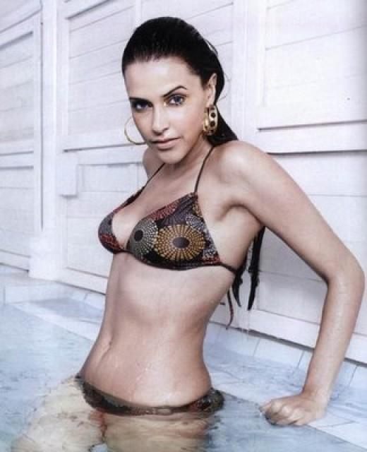 Neha Dhupia In Bikini