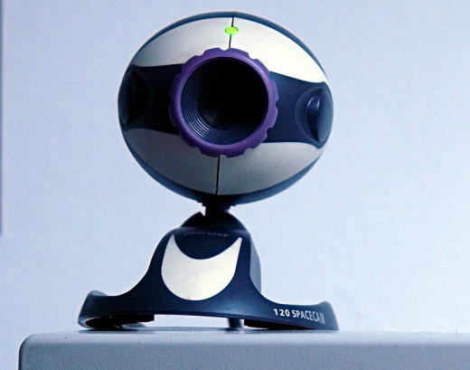 Picture of a webcam by simon.zfn public domain Wikipedia