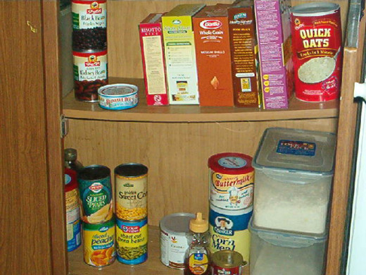 Stock your pantry with foods that will help you create healthy meals each day.