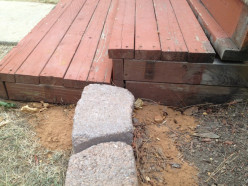 How to Refurbish or Rebuild a Small, Wooden Front Porch --- Part I Disassembling