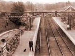 Kildale in more prosperous times, two platforms, station house and offices, signal cabin, waiting room on the up platform and a small goods yard