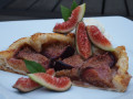 Fig Puff Pastry Tart with Agave Nectar