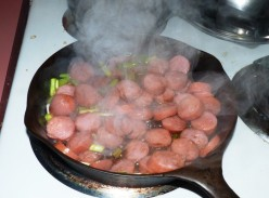 Redneck Cuisine: A Quick Smoked Sausage Dinner