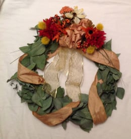 Medium wreath.