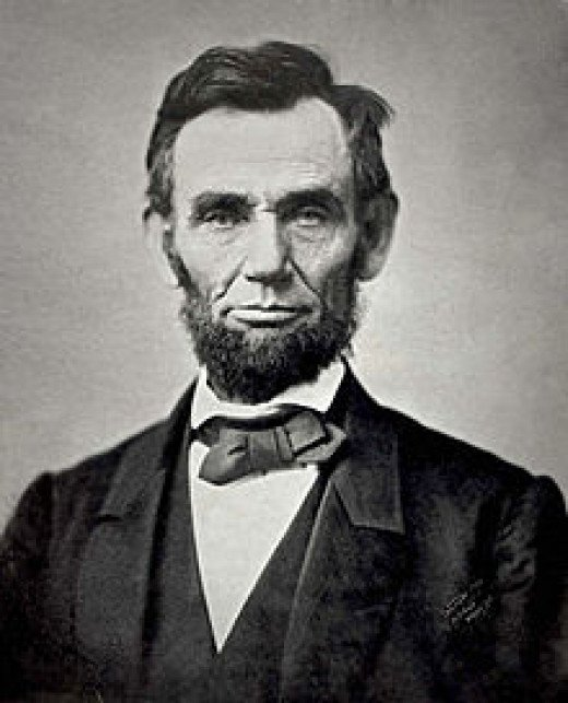 1st Republican President, also abolished slavery