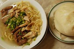 Pork Mami with Siopao