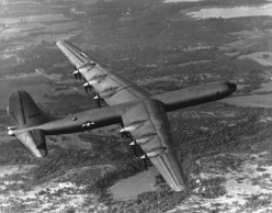B-36 in flight