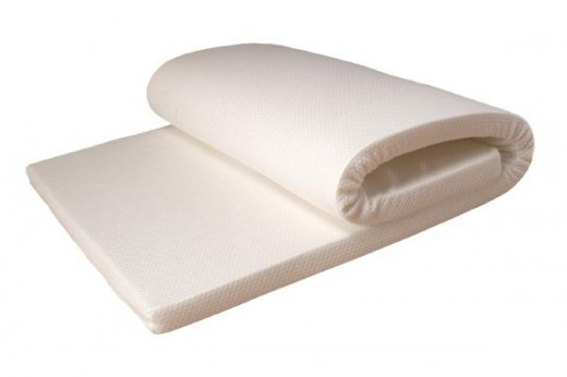 roll-up memory foam mattress topper