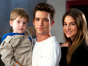 Ricky, Amy, and John (teen parents)