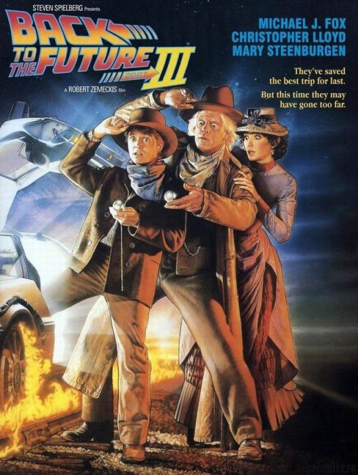 Back to the Future III (1990) art by Drew Struzan