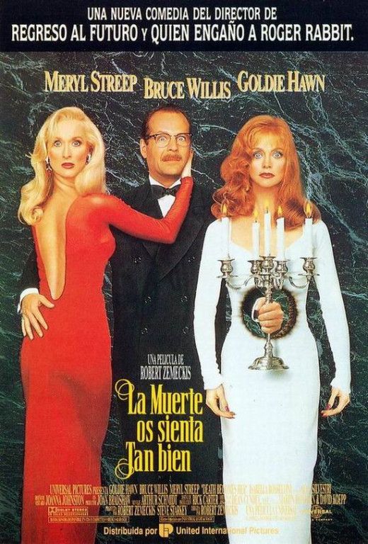 Death Becomes Her (1992) Spanish poster