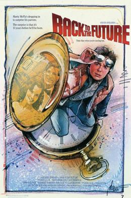 Back to the Future (1985) art by Drew Struzan