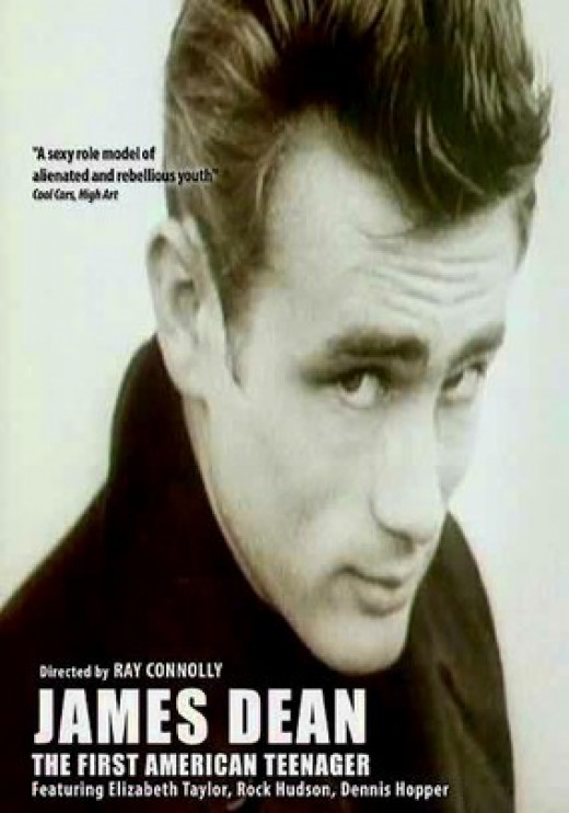 DVD cover of James Dean: The First American Teenager (1975)