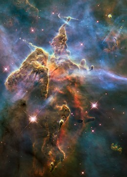 All  these photogaphs are taken by the Hubble Telescope.  What a wonderful universe we live in!
