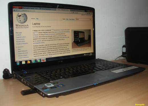 Laptop Acer Aspire 8920