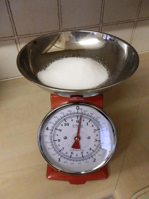 3 oz caster sugar