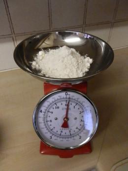 3 oz self raising flour